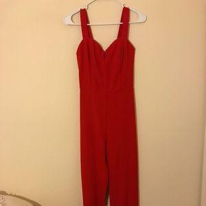 Red H&M Jumpsuit